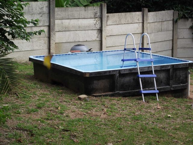 Stock item view easylife pools for Above ground fiberglass pools